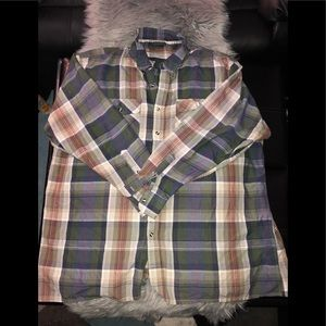 Other - Plaid Polo shirts 4XL